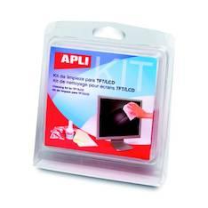 Puhdistussetti APLI TFT/LCD näytöille - ATK:n puhdistusaineet ja liinat - 127133 - 1