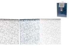 Sivuverho 140x250cm koukerokuvio lajitelma - Verhot ja verhotarvikkeet - 134383 - 1