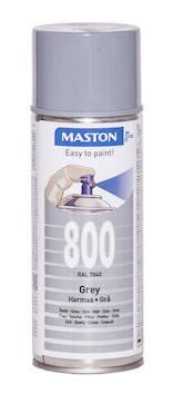 Spraymaali 100 400ml ral7040 - Maalaustarvikkeet - 136243 - 1