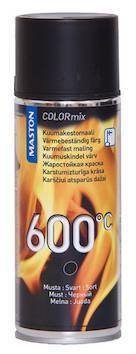 Spraymaali kuumakesto  600c 400ml - Maalaustarvikkeet - 136313 - 1