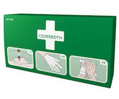 Tartuntasuojapakkaus - Ensiaputuotteet CEDERROTH - 128303 - 1