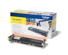 Värikasetti BROTHER TN-230Y laser - Brother laservärikasetit ja rummut - 120743 - 1