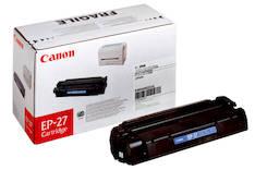Värikasetti CANON EP-27 laser - Canon laservärikasetit - 113203 - 1