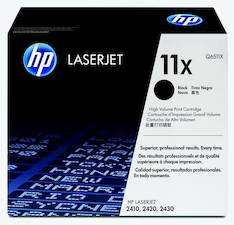 Värikasetti HP 11X Q6511X laser - HP laservärikasetit ja rummut - 112403 - 1