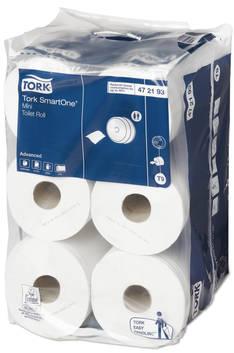 WC-paperi TORK SmartOne mini Advanced T9 - Minijumborullat ja annostelijat - 150113 - 1