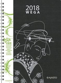 Wega eko, musta - Ajasto kalenterit - 152583 - 1