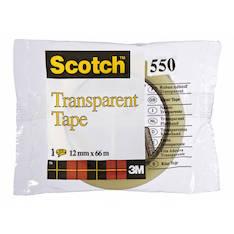 Yleisteippi SCOTCH 550 12x66mm - Yleisteipit - 104543 - 1