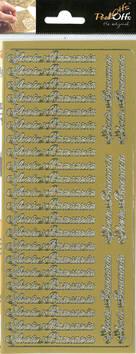 Ääriviivatarra Iloista Pääsiäistä - Tarrat ja tarrakirjat - 151073 - 1