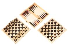 Shakki + 2 peliä - Muut pelit - 153193 - 1