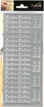 Ääriviivatarra kutsu - Tarrat ja tarrakirjat - 135993 - 1