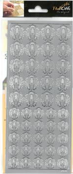 Ääriviivatarra lyyra - Tarrat ja tarrakirjat - 136003 - 1