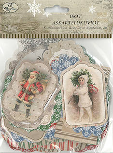 Askartelukuvio iso Joulu vintage - Askartelutarvikkeet - 149014 - 1
