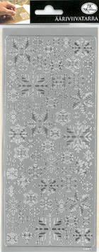 Ääriviivatarra lumihiutale 2 - Tarrat ja tarrakirjat - 143434 - 1
