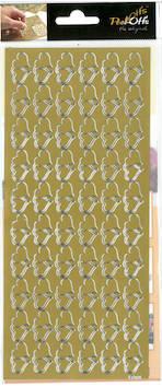 Ääriviivatarra tuplasydän - Tarrat ja tarrakirjat - 136014 - 1