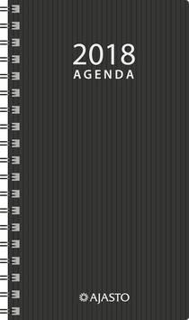 Agenda eko, musta - Ajasto kalenterit - 152594 - 1