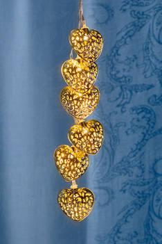 Airam capri sydänsarja led 10, paristoil - Jouluun valot,koristeet,tekstiilit - 144314 - 1