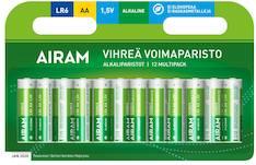 Paristo Airam LR6 AA alkaline - Paristot - 139474 - 1
