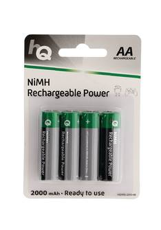 Akkuparisto HQ HR6 AA 2000mAh - Paristot - 150704 - 1
