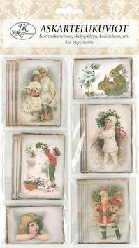 Askartelukuvio Vintagekuvat Joulu - Askartelutarvikkeet - 148944 - 1