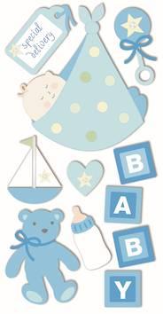 Baby boy 2 -tarra-arkki - Askartelutarvikkeet - 137294 - 1