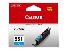 CANON CLI-551 C mustesuihku - Canon mustesuihkuväripatruunat - 153654 - 1