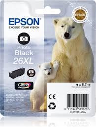 EPSON T2631 mustesuihku - Epson mustesuihkuväripatruunat - 133624 - 1