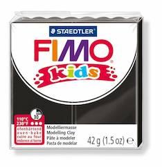 Fimo kids musta - Askartelutarvikkeet - 140774 - 1