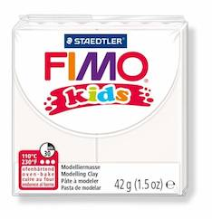 Fimo kids valkoinen - Askartelutarvikkeet - 140764 - 1