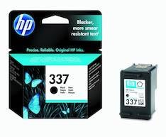HP 337 C9364EE mustesuihku - HP mustesuihkuväripatruunat - 116714 - 1