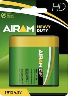 Paristo Airam HD 3R12 4,5V - Paristot - 139484 - 1