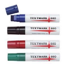 Huopakynä 10-18mm TEXTMARK 880 viisto - Huopakynät - 129104 - 1