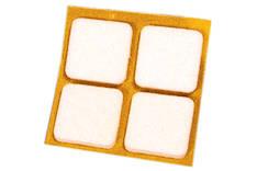 Huopatassu 486/25x25 vaalea - Pientarvikkeet - 134964 - 1
