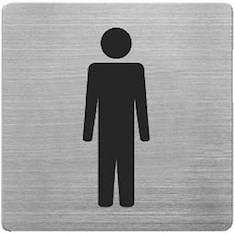 Infotaulu WC MIEHET - Valko- ja ilmoitustaulut - 144924 - 1