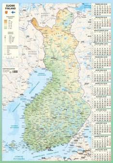 Karttakalenteri - Ajasto kalenterit - 152634 - 1