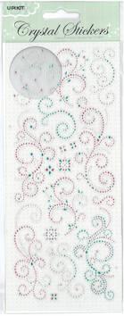 Kristallitarra koristekuviot - Tarrat ja tarrakirjat - 135984 - 1