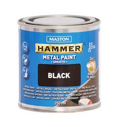 Maali hammer sileä 250ml - Maalaustarvikkeet - 136374 - 1