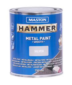 Maali hammer sileä 750ml - Maalaustarvikkeet - 136384 - 1