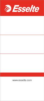 Mappietiketti kartonki 75mm ESSELTE - Etiketit-, tulostuskortit ja tarrakalvot - 102184 - 1
