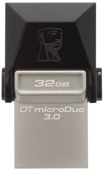 Muistitikku DT MICRODUO KINGSTON 32GB - USB muistitikut ja kortit - 153904 - 1