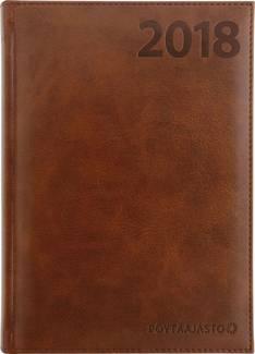 Pöytäajasto, ruskea - Ajasto kalenterit - 152554 - 1