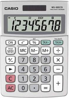 Pöytälaskin CASIO MS-88 ECO - Pöytälaskimet - 121234 - 1