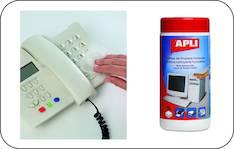 Puhdistusliina APLI antistaattinen - ATK:n puhdistusaineet ja liinat - 122674 - 1