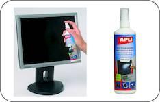 Puhdistusspray APLI 250ml antistaattinen - ATK:n puhdistusaineet ja liinat - 126754 - 1