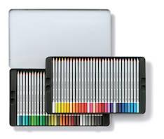 Puuväri akvarelli 60kpl STAEDTLER Karat - Puuvärit - 126944 - 1
