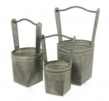 Ruukku metalli kahvalla iso - Maljakot ja ruukut - 151814 - 1