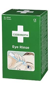 Silmänhuuhteluampulli CEDERROTH - Ensiaputuotteet CEDERROTH - 131864 - 1