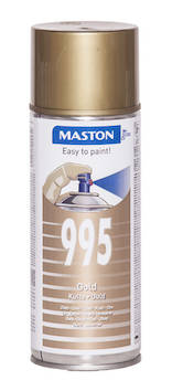 Spraymaali 100 400ml - Maalaustarvikkeet - 136254 - 1