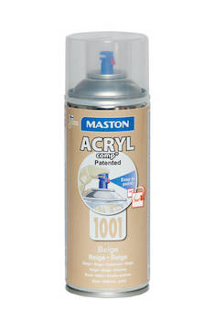 Spraymaali acrylcomp ral1001 400ml - Maalaustarvikkeet - 136214 - 1