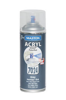Spraymaali acrylcomp ral7024 400ml - Maalaustarvikkeet - 136224 - 1