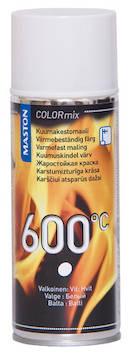 Spraymaali kuumakesto 600c  400ml - Maalaustarvikkeet - 136314 - 1